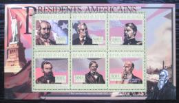 Poštovní známky Guinea 2010 R. B. Hayes, 19. US prezident Mi# 8024-29 Kat 12€