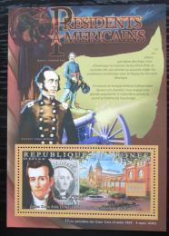Poštovní známka Guinea 2010 James K. Polk, 11. US prezident Mi# Block 1885 Kat 10€