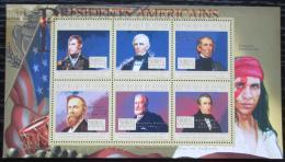 Poštovní známky Guinea 2010 W. H. Harrison, 9. US prezident Mi# 7913-18 Kat 12€