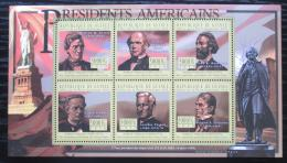 Poštovní známky Guinea 2010 Andrew Johnson, 17. US prezident Mi# 8012-17 Kat 12€