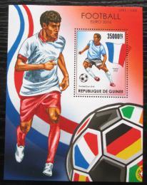 Poštovní známka Guinea 2015 ME ve fotbale Mi# Block 2577 Kat 14€