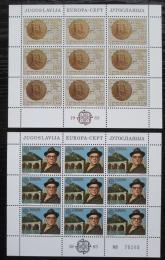 Poštovní známky Jugoslávie 1983 Evropa CEPT Mi# 1984-85 Bogen Kat 10€