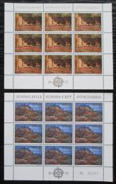 Poštovní známky Jugoslávie 1977 Evropa CEPT Mi# 1684-85 Bogen Kat 10€