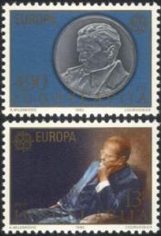 Poštovní známky Jugoslávie 1980 Evropa CEPT Mi# 1828-29