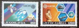 Poštovní známky Jugoslávie 1988 Evropa CEPT Mi# 2273-74