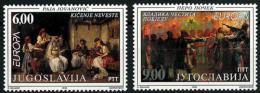 Poštovní známky Jugoslávie 1998 Evropa CEPT Mi# 2855-56 Kat 6€