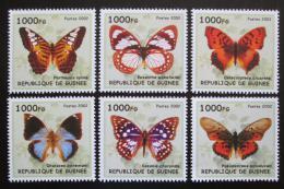 Poštovní známky Guinea 2002 Motýli Mi# N/N
