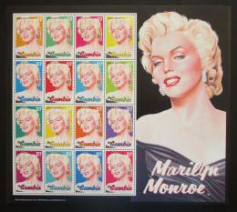 Poštovní známky Gambie 2004 Marilyn Monroe Mi# 5271-86