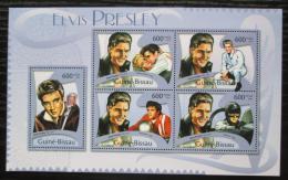 Poštovní známky Guinea-Bissau 2012 Elvis Presley Mi# 5782-86 Kat 12€
