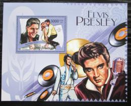 Poštovní známka Guinea-Bissau 2012 Elvis Presley Mi# Block 1019 Kat 12€