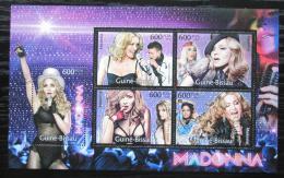 Poštovní známky Guinea-Bissau 2012 Madonna Mi# 5846-50 Kat 12€