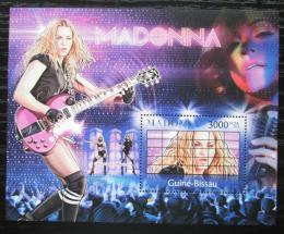 Poštovní známka Guinea-Bissau 2012 Madonna Mi# Block 1032 Kat 12€