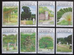 Poštovní známky Dominika 1992 Botanické zahrady Mi# 1496-1503 Kat 10€