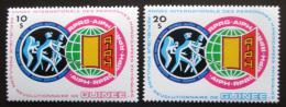 Poštovní známky Guinea 1983 Mezinárodní rok postižených Mi# 945-46 Kat 10.50€