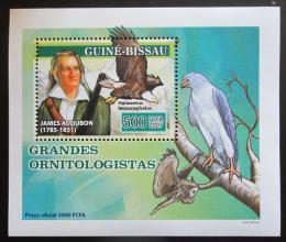 Poštovní známka Guinea-Bissau 2007 John James Audubon, ornitolog Mi# 3471 Block
