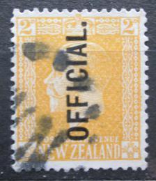 Poštovní známka Nový Zéland 1917 Král Jiøí V. úøední Mi# 24 A