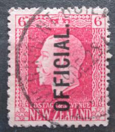 Poštovní známka Nový Zéland 1916 Král Jiøí V. úøední Mi# 27 A
