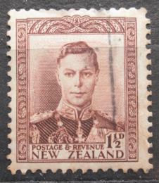 Poštovní známka Nový Zéland 1938 Král Jiøí VI. Mi# 240
