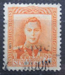 Poštovní známka Nový Zéland 1947 Král Jiøí VI. Mi# 242