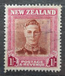 Poštovní známka Nový Zéland 1947 Král Jiøí VI. Mi# 295