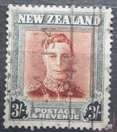 Poštovní známka Nový Zéland 1947 Král Jiøí VI. Mi# 298 IIX