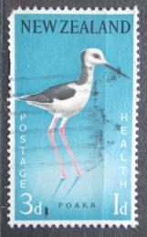 Poštovní známka Nový Zéland 1959 Pisila bìlohlavá, zdravotní pojištìní Mi# 387