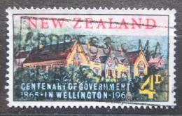 Poštovní známka Nový Zéland 1965 Stará radnice ve Wellingtonu Mi# 441