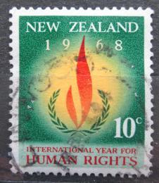 Poštovní známka Nový Zéland 1968 Mezinárodní rok lidských práv Mi# 490