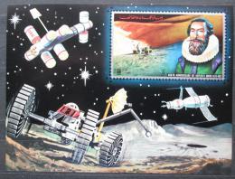 Poštovní známka Adžmán 1971 Johannes Kepler, prùzkum vesmíru Mi# Block 361