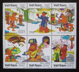 Poštovní známky Vietnam 1990 Legendy Mi# 2249-54