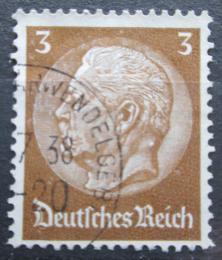 Poštovní známka Nìmecko 1934 Prezident Paul von Hindenburg Mi# 513 X