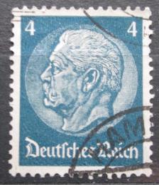 Poštovní známka Nìmecko 1934 Prezident Paul von Hindenburg Mi# 514 X
