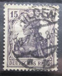 Poštovní známka Nìmecko 1917 Germania Mi# 101