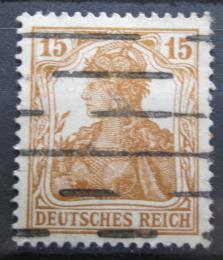 Poštovní známka Nìmecko 1916 Germania Mi# 100