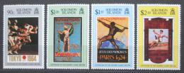 Poštovní známky Šalamounovy ostrovy 1996 LOH Atlanta Mi# 915-18