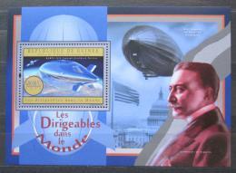 Poštovní známka Guinea 2012 Vzducholodì Mi# Block 2161 Kat 16€