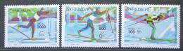 Poštovní známky Somálsko 2001 Bìh na lyžích TOP SET Mi# 864-66 Kat 20€