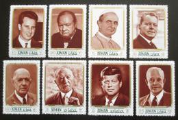 Poštovní známky Adžmán 1970 Bojovníci za svobodu Mi# 1246-53