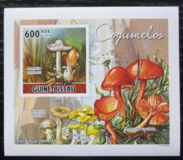 Poštovní známka Guinea-Bissau 2010 Houby DELUXE neperf. Mi# 5160 B Block