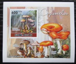 Poštovní známka Guinea-Bissau 2010 Houby DELUXE neperf. Mi# 5164 B Block