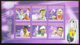 Poštovní známky Komory 2010 LOH Peking Mi# 2886-91 Kat 10€