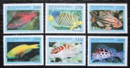Poštovní známky Benin 1997 Ryby Mi# 978-83 Kat 7€
