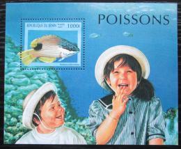 Poštovní známka Benin 1997 Bodianus bilunulatus Mi# Block 34