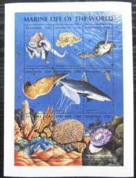 Poštovní známky Tanzánie 1998 Moøská fauna Mi# 2866-74 Kat 10€