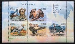 Poštovní známky Komory 2011 Supi Mi# 3028-32 Bogen Kat 12€