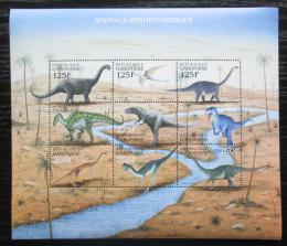 Poštovní známky Gabon 2000 Dinosauøi Mi# 1581-89 Kat 10€