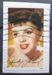Poštovní známka USA 2006 Judy Garland, samolepící na papíøe Mi# 4129