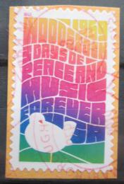 Poštovní známka USA 2019 Festival ve Woodstocku, samolepící na papíøe Mi# 5646