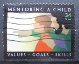 Poštovní známka USA 2002 Výchova dìtí Mi# 3515