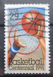 Poštovní známka USA 1992 Basketbal, 100. výroèí Mi# 2162